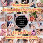 デボラリップマン公式アンバサダーに就任しました!!!DeborahLippmann Brand Ambassador !!!